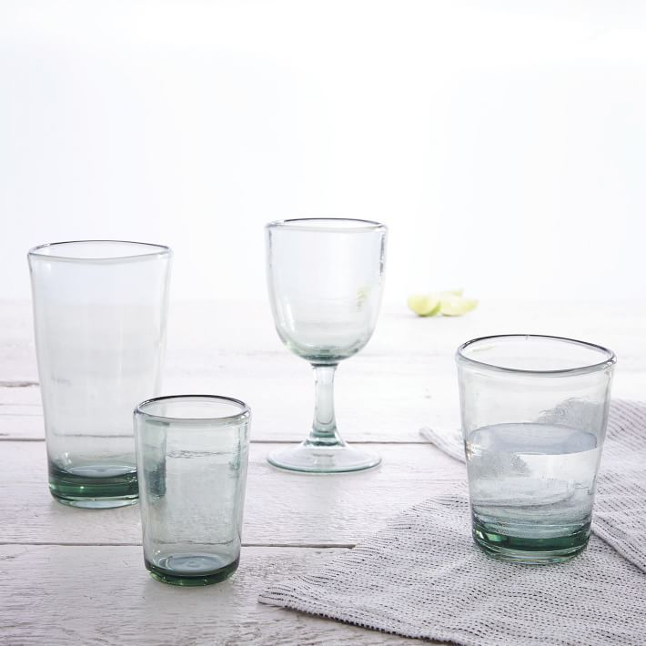 Acrylic Drinkware Recycled Green Set Of 4 Downstairs Kitchen