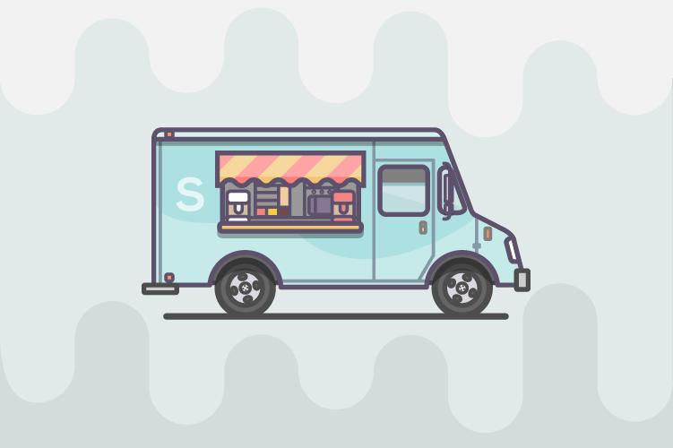 Vehicles Miguelcm Design Illustration Ice Cream Truck Truck Art Illustration