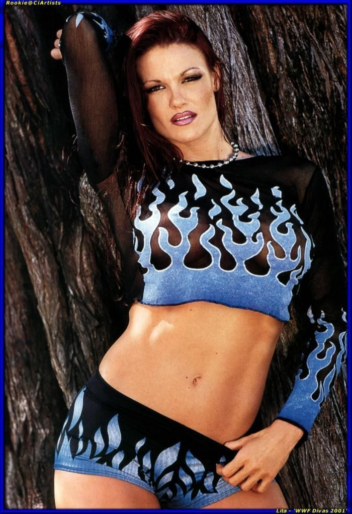 Wwe lita pron, blonde natural big boobs