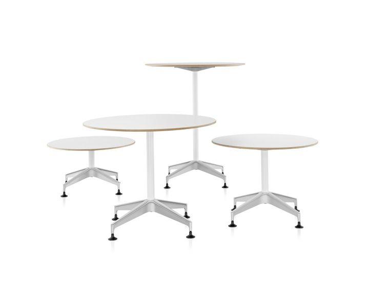 Herman Miller Setu Tables Modern Dining Table Collaborative