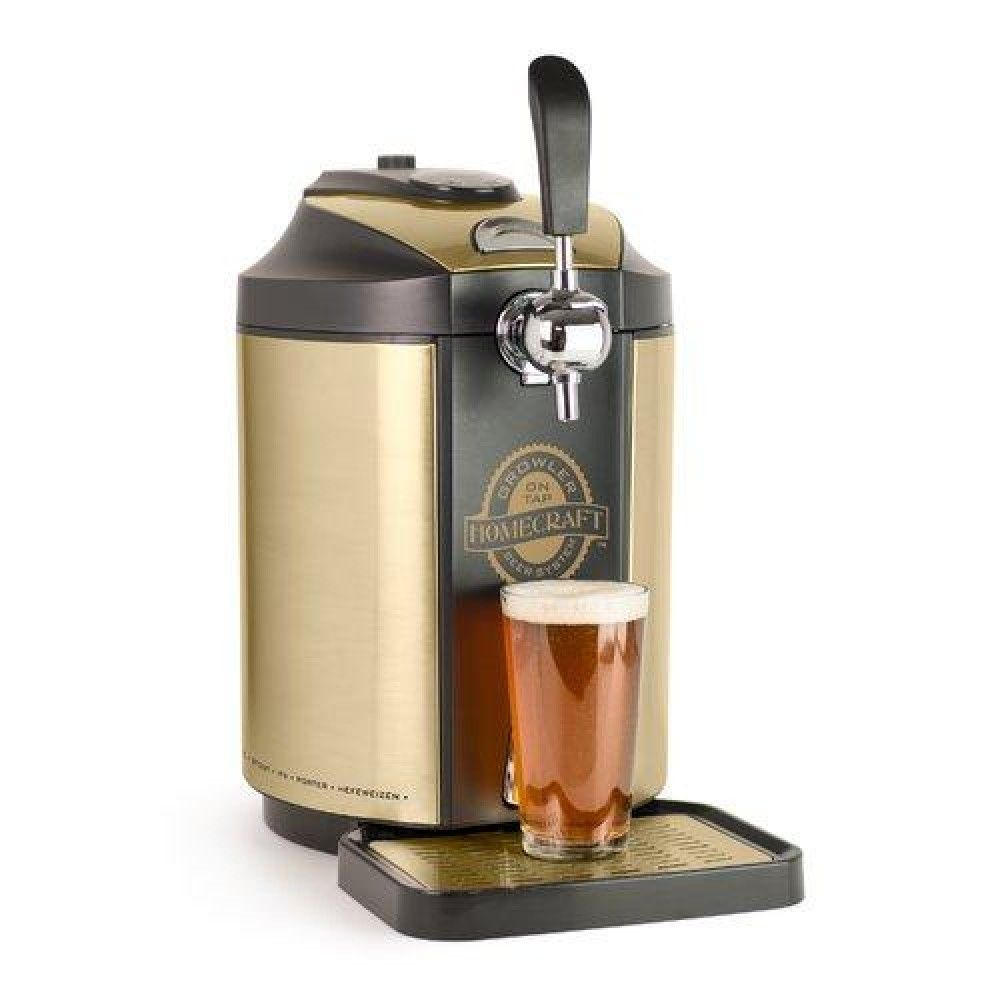 Nostalgia Homecraft On Single Tap Beer Growler Cooling System