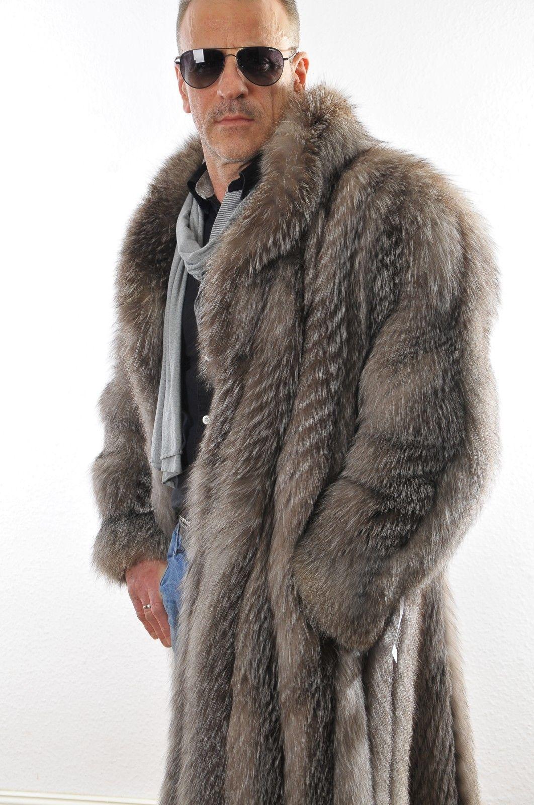 Mantel pelz herren