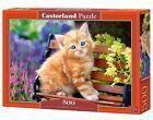(CSB52240) - Castorland Jigsaw 500 pc - Ginger Kitten #Puzzles #gingerkitten (CSB52240) - Castorland Jigsaw 500 pc - Ginger Kitten #Puzzles #gingerkitten