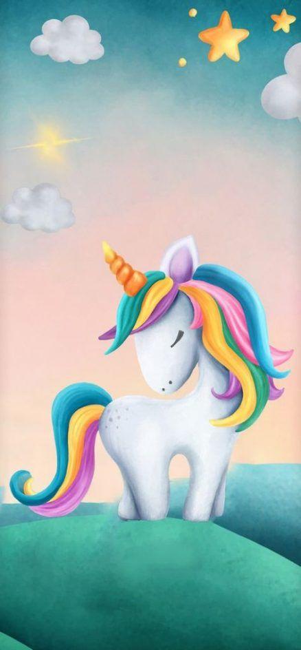 18+ Ideas Wall Paper Unicorn Kids #wall