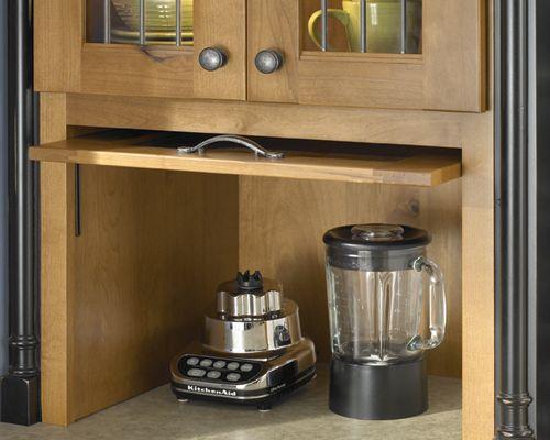 Tip Up Pocket Door Appliance Garage
