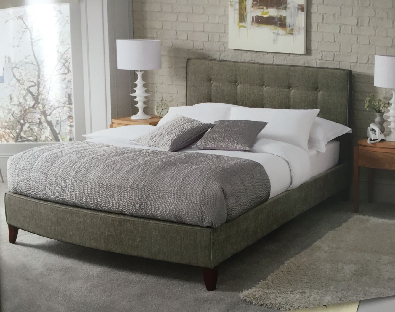 Pin by joel rock on Cocoon (With images) Upholstered bed