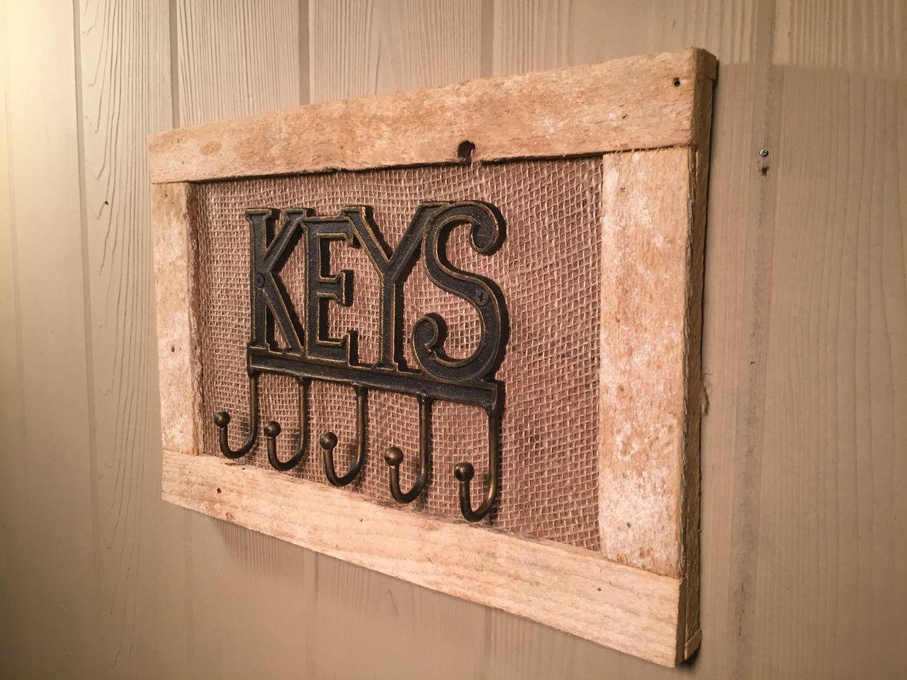 Rustic Key Holder May 2017