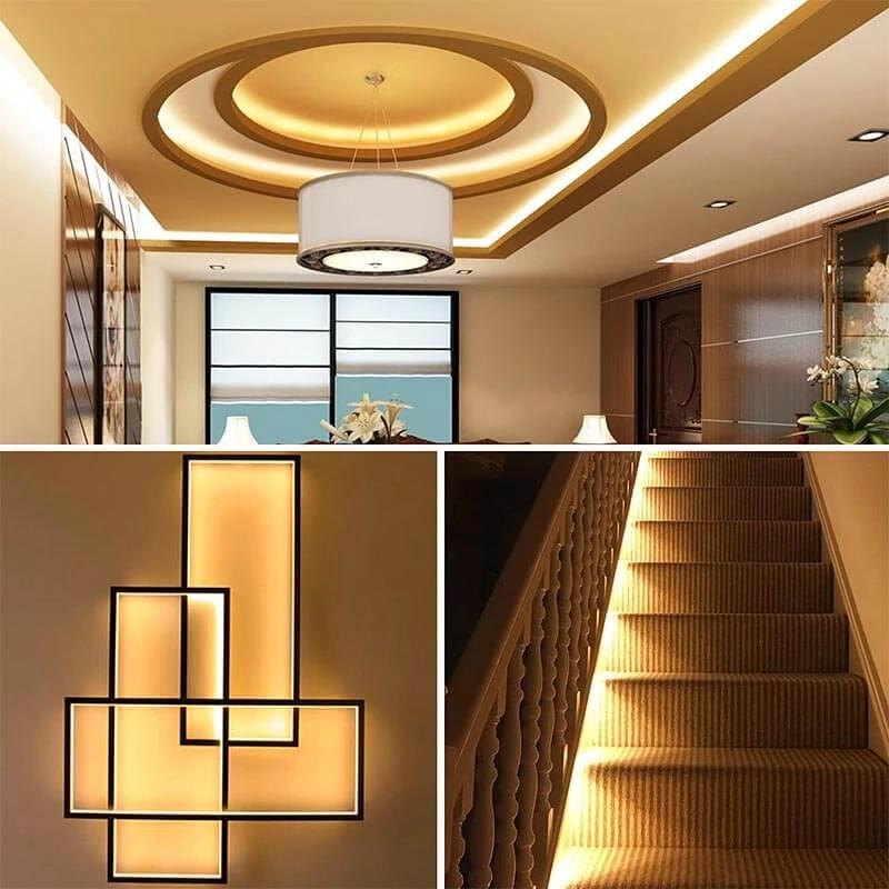 Dimmable LED Strip Lights 10m Kit 2835 3000K Warm White