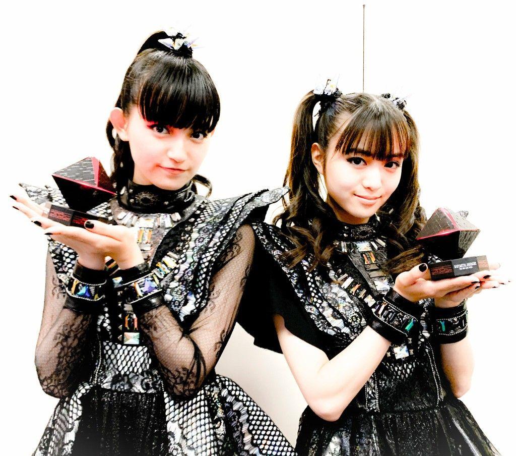 SuMetal (Nakamoto, Suzuka) & Moa Metal (Kikuchi, Moa