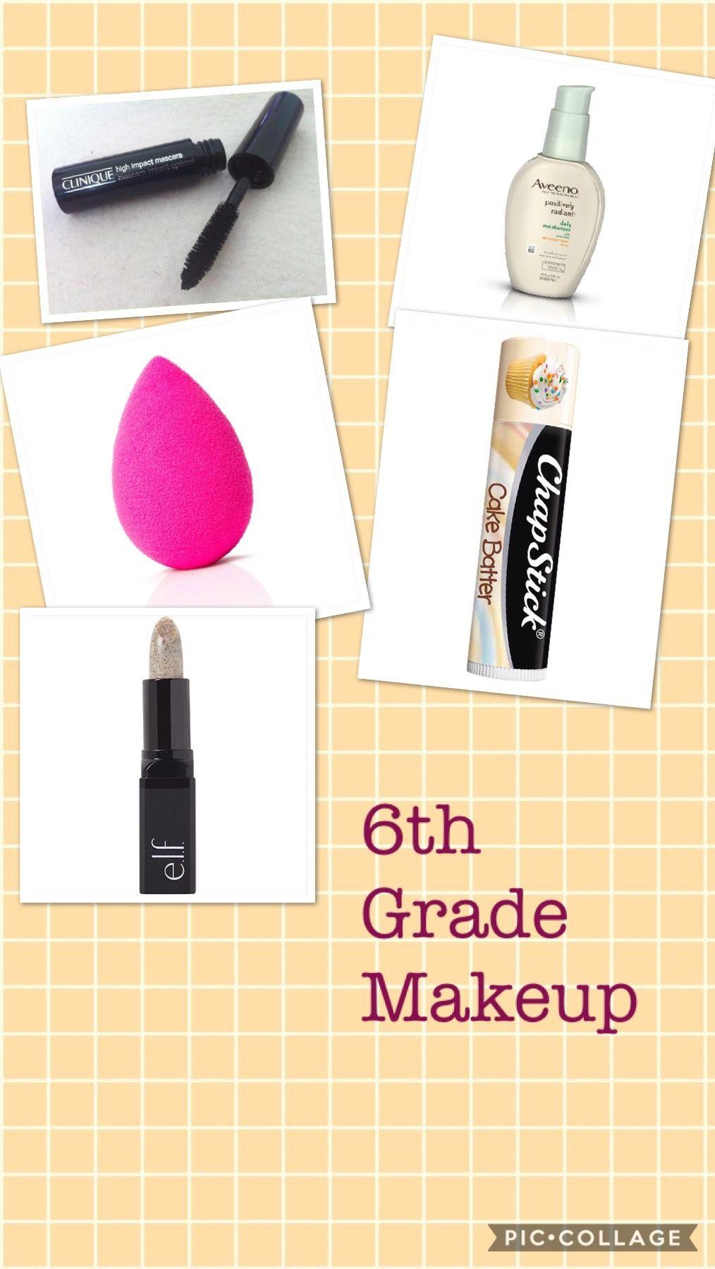 6th grade simple makeup 6th grade makeup, Middle school