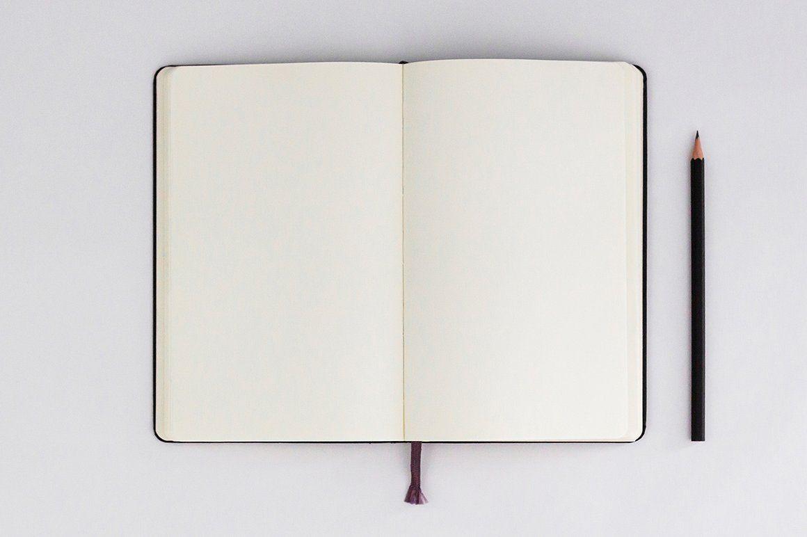 Sketchbook Mockups Sketch Book Bullet Journal Lettering Ideas Frame Mockup Free