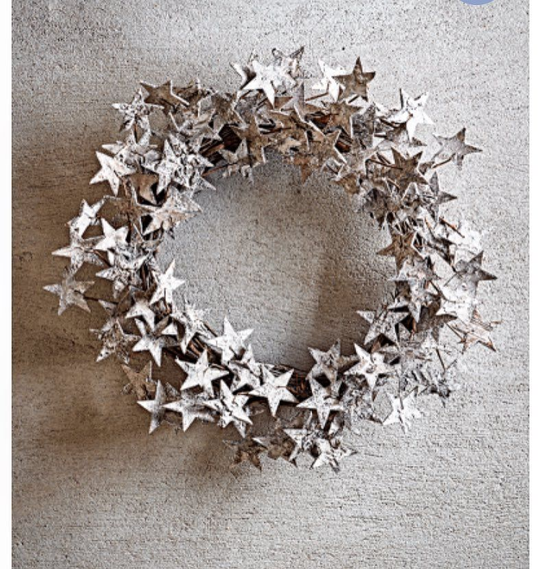 Please excuse my radio silence of late ..recharging my batteries after a mad week to prepare for another one :) . Sitting in bed surfing Christmas gifts..just love this wreath @coxandcox
