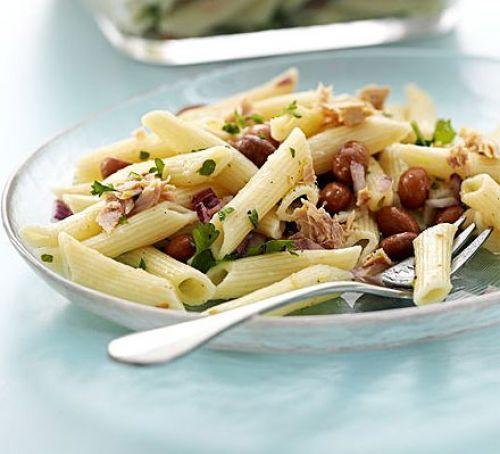 Pasta salad with fish recipe