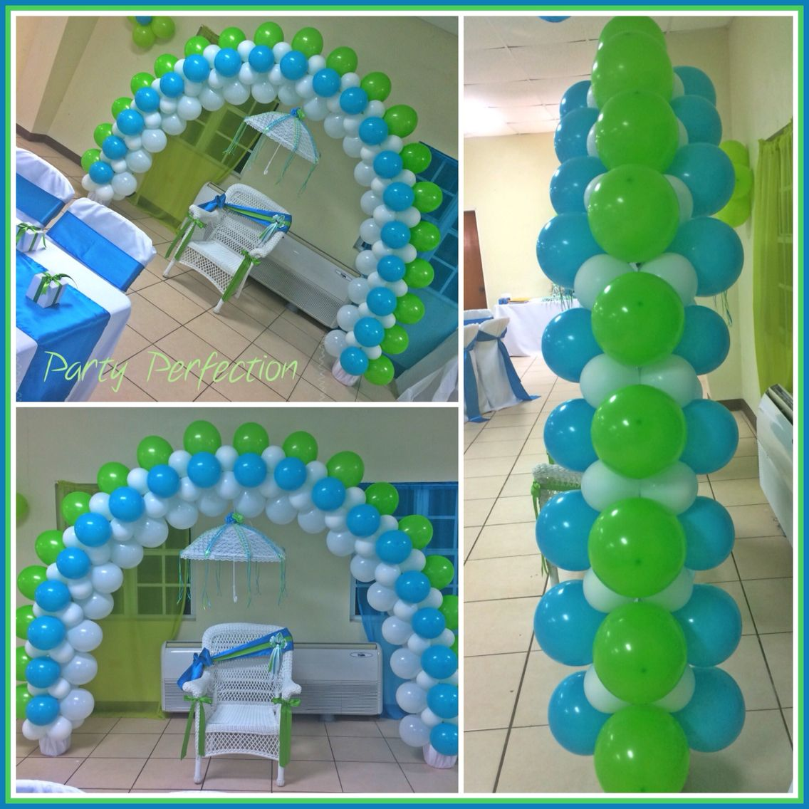 Little man arch by glenda balloon decorations for Balloon arch decoration ideas