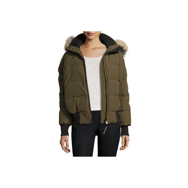canada goose jacket army