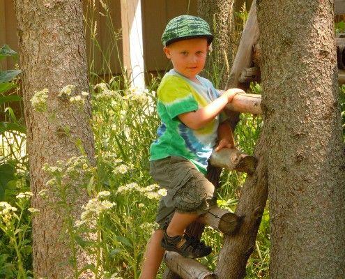 Children's Natural Play Area - Riveredge Nature Center