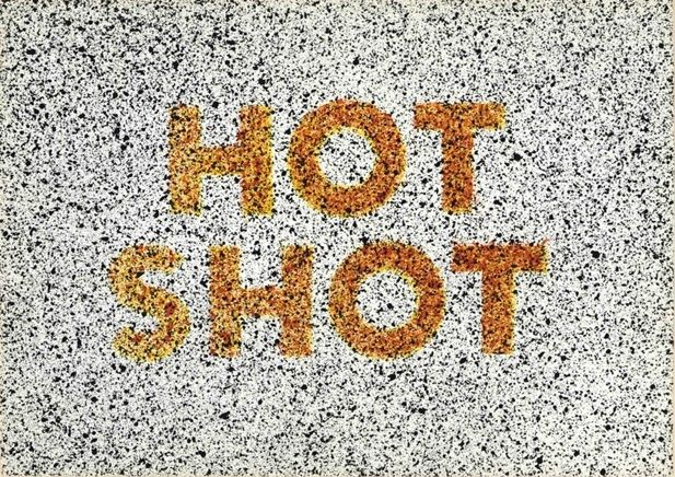 Ed Ruscha, Hot Shot