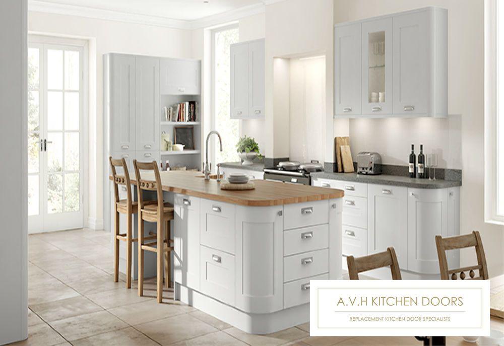 Best Boston Super Matt Dove Grey Kitchen Cupboard Doors And 400 x 300