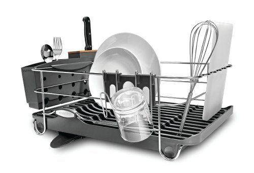 Best Dish Rack With Knife Block Simplehuman Dish Racks 400 x 300