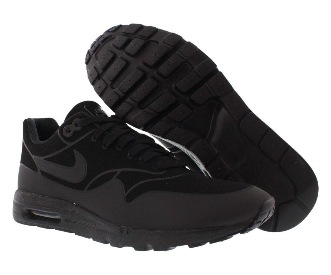 brand new 7288e 0b803 Acheter France Nike Air Max 1 Ultra Moire Femmes Chaussures Courir  Noir Anthracite