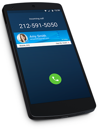CallApp Homepage Caller ID Call & Spam blocker