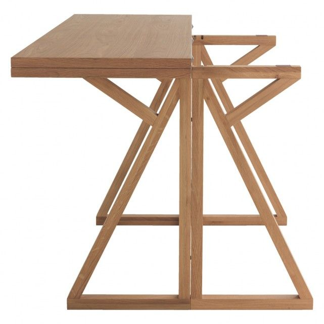 Heath 2 4 Seat Oak Folding Dining Table Now At Habitat Uk