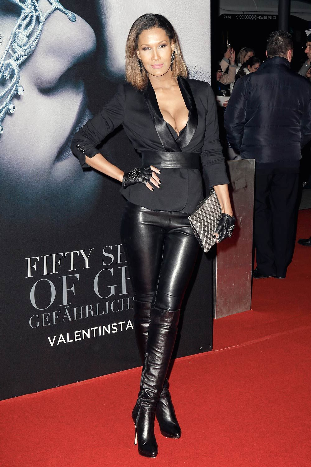 Marie Amiere attends European Premiere of Fifty Shades