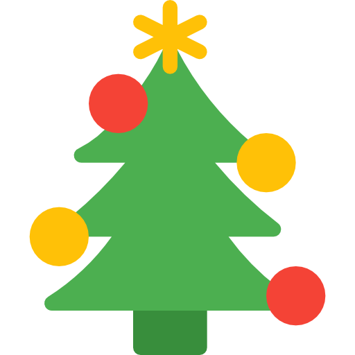 Christmas Tree Free Vector Icons Designed By Pixel Perfect Christmas Icons Vector Icon Design Free Icons