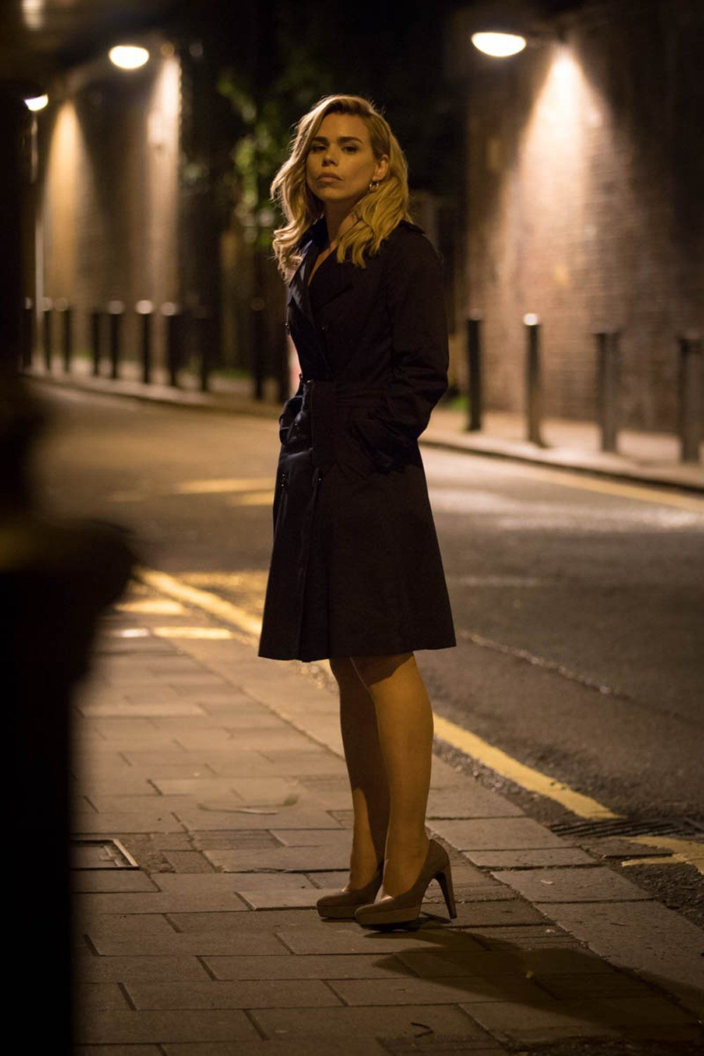 Lunaseemoony First Still Of Billie Piper In City Of Tiny Lights Set To Be Released 7th April 2017 In Uk Cinemas Billie Piper Billie Piper