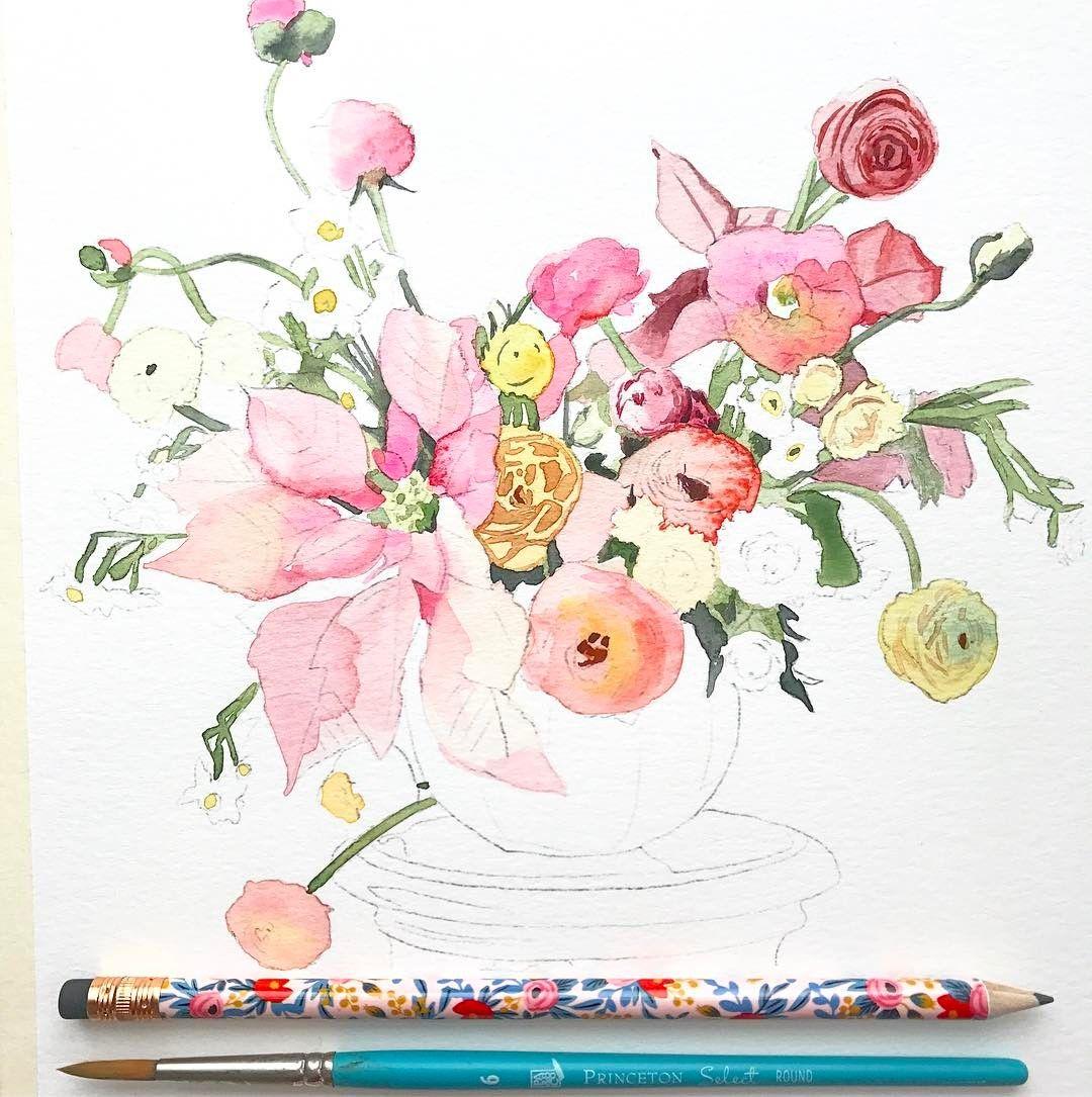Watercolor Paintings Watercolor Art Watercolor Flowers Diy