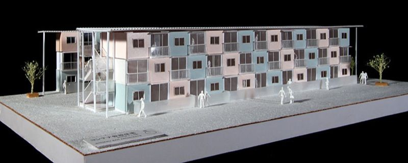 Arquitectura industrial, vivienda contenedores maritimos, casas económicas, Arquitectura económica, vivienda modular, micasamodular