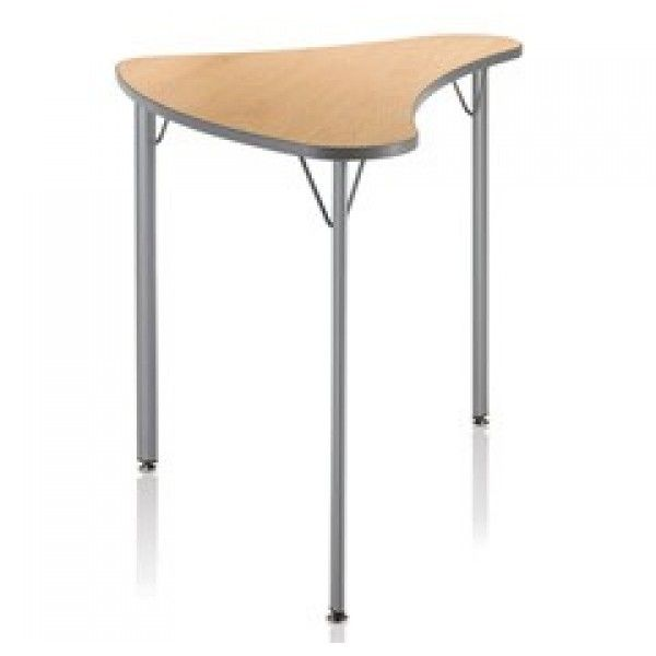 Ki Intellect Wave Contour Tripod Desk
