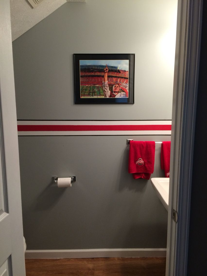 Room Ideas · Ohio State Bathroom