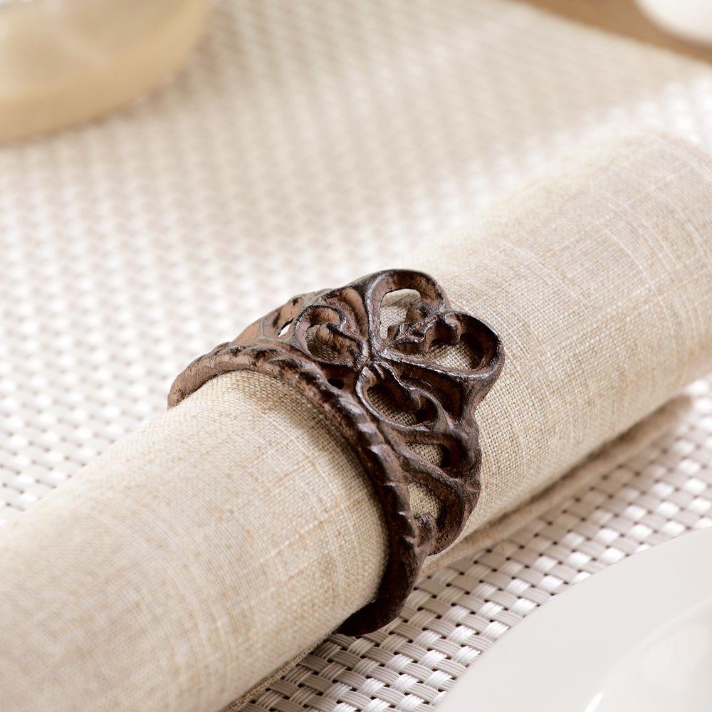 Classic Napkin Rings S/6 #33963