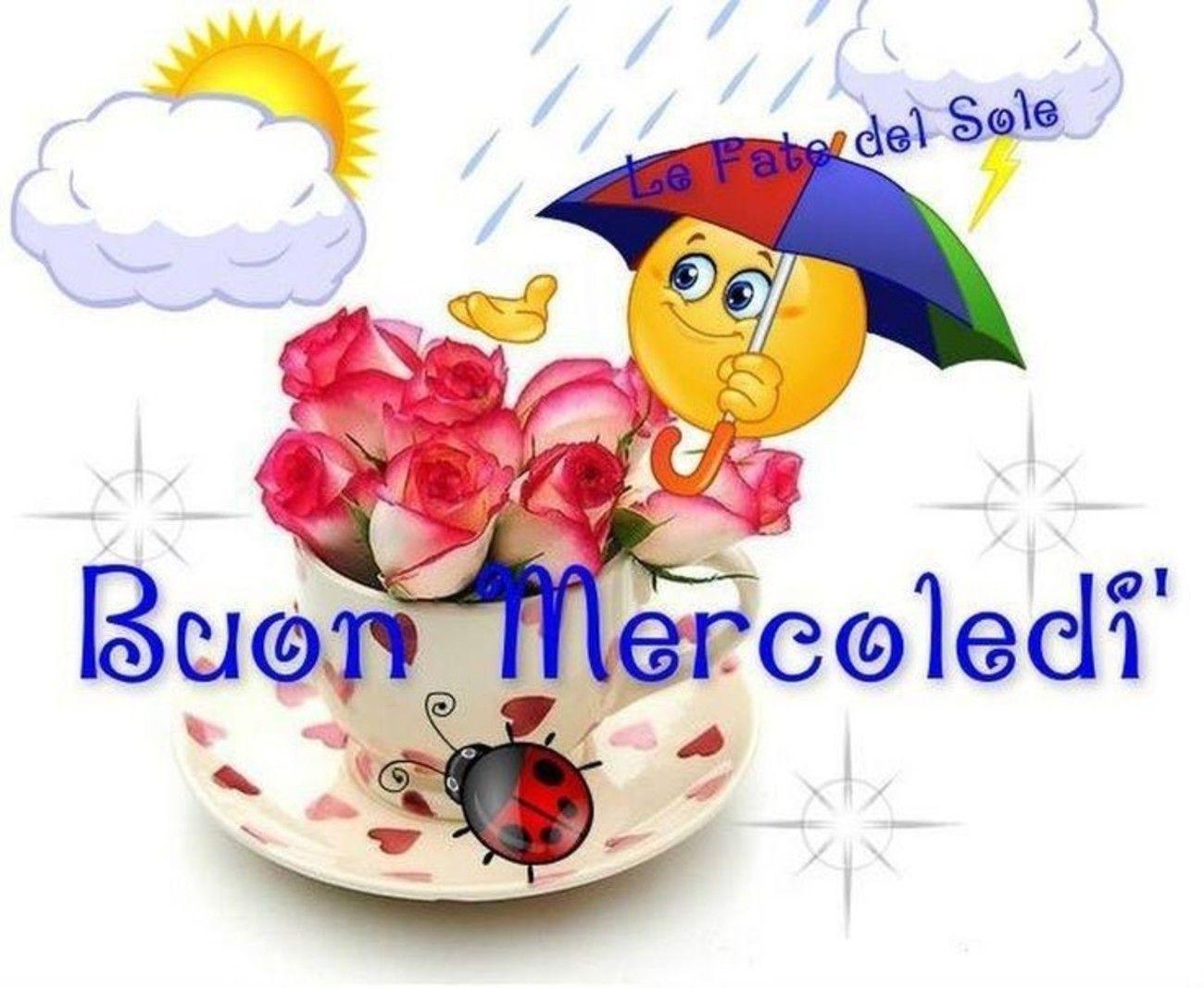 Buon Mercoledì Con La Pioggia 220 Buongiorno Immaginiit