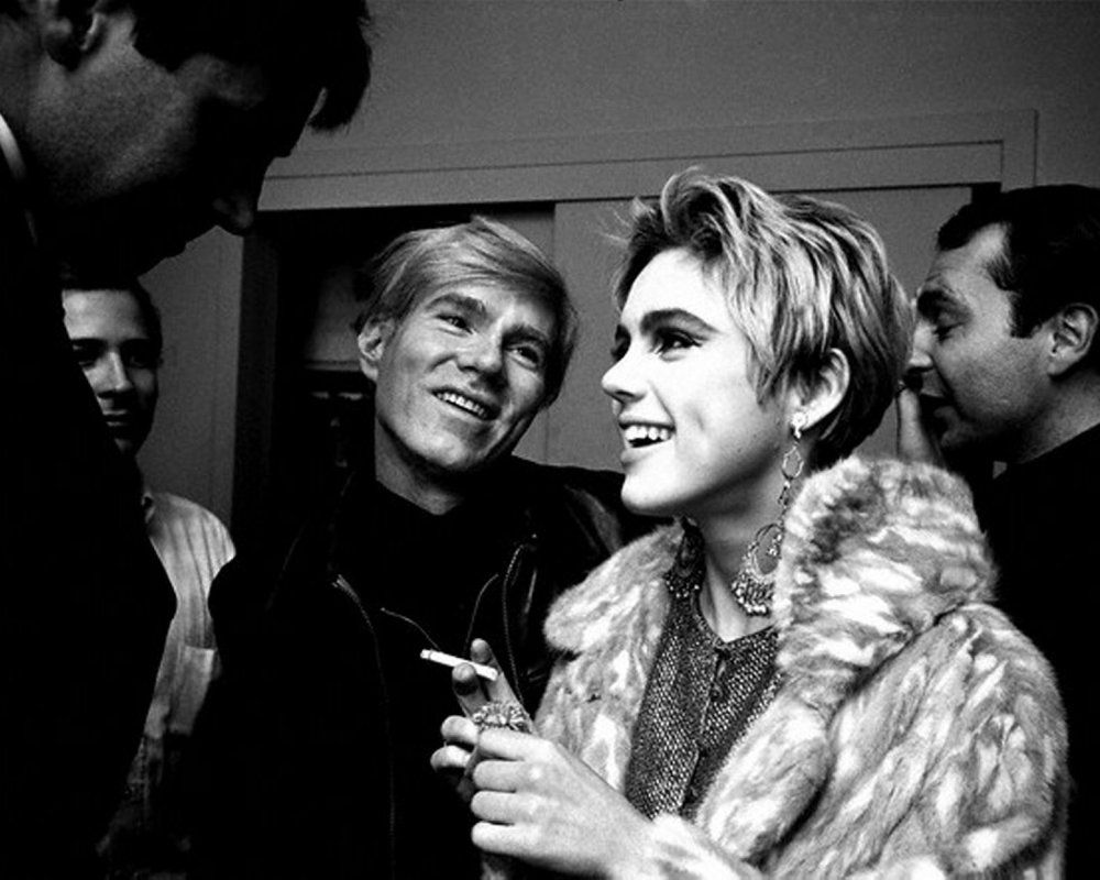 Image result for edie sedgwick andy warhol
