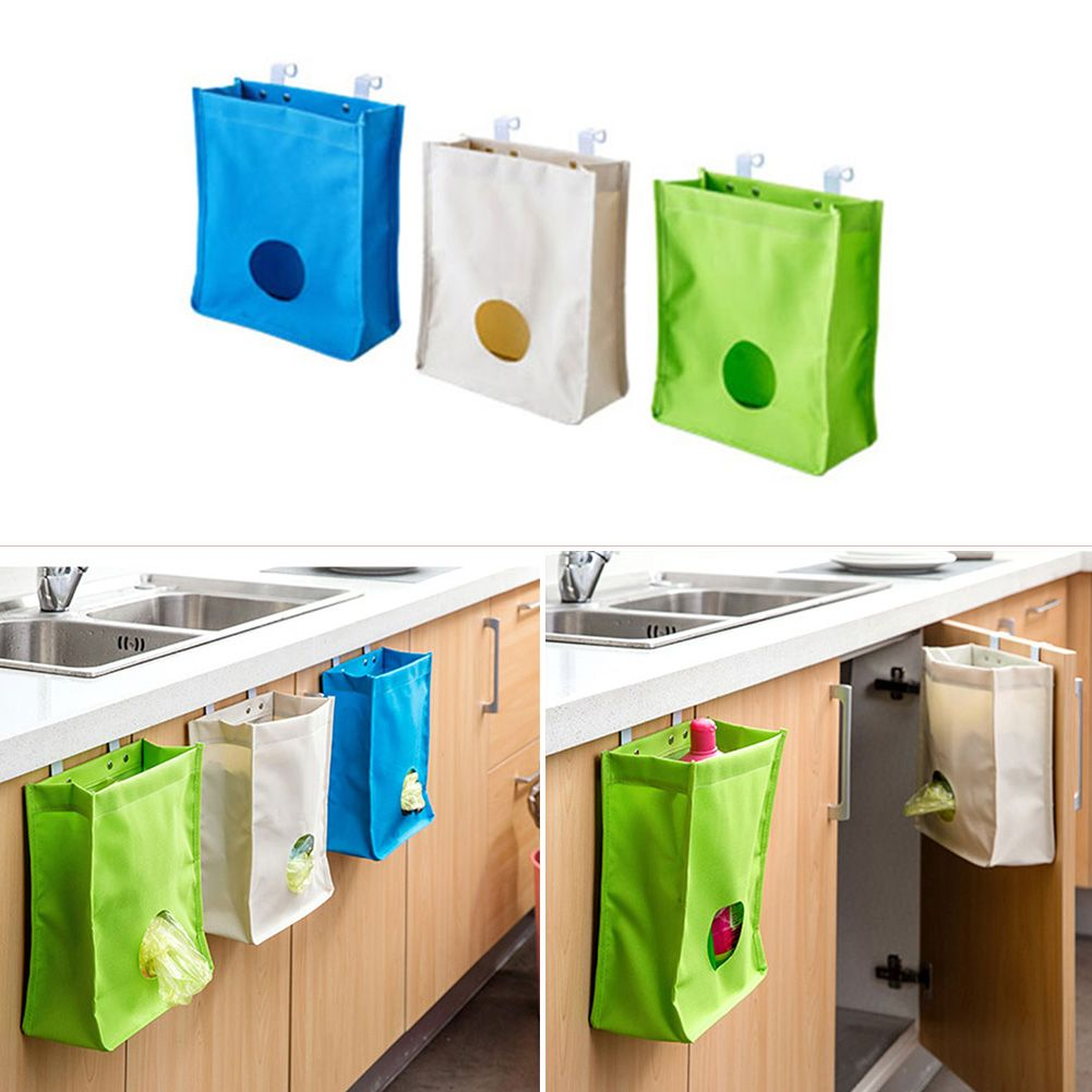 2016 Hot Sale Portable Kitchen Hanging Drain Bag Basket Bath Storage Box  Gadget Tools Sink Holder
