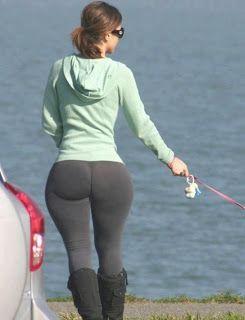 Big ass in yoga pants
