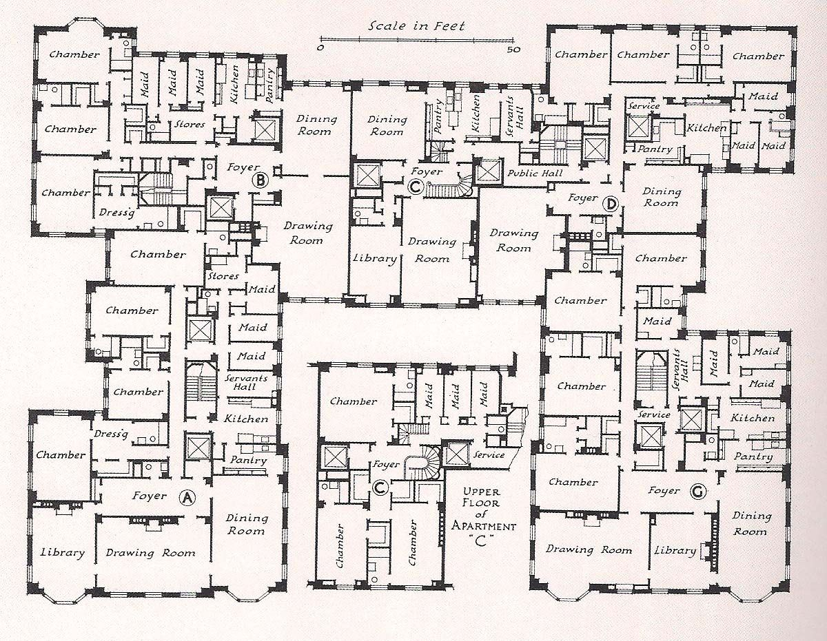 Milton j black floor plans the devoted classicist for Rich house plans