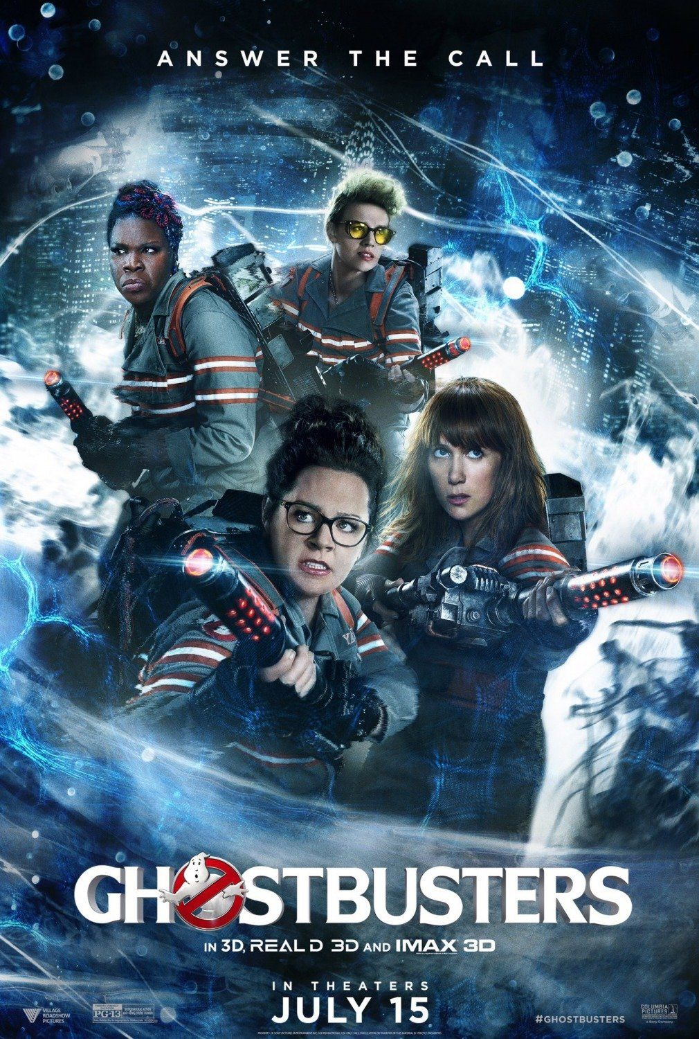 Ghostbusters (2016) Film Poster | Who you gonna call? | Pinterest ...