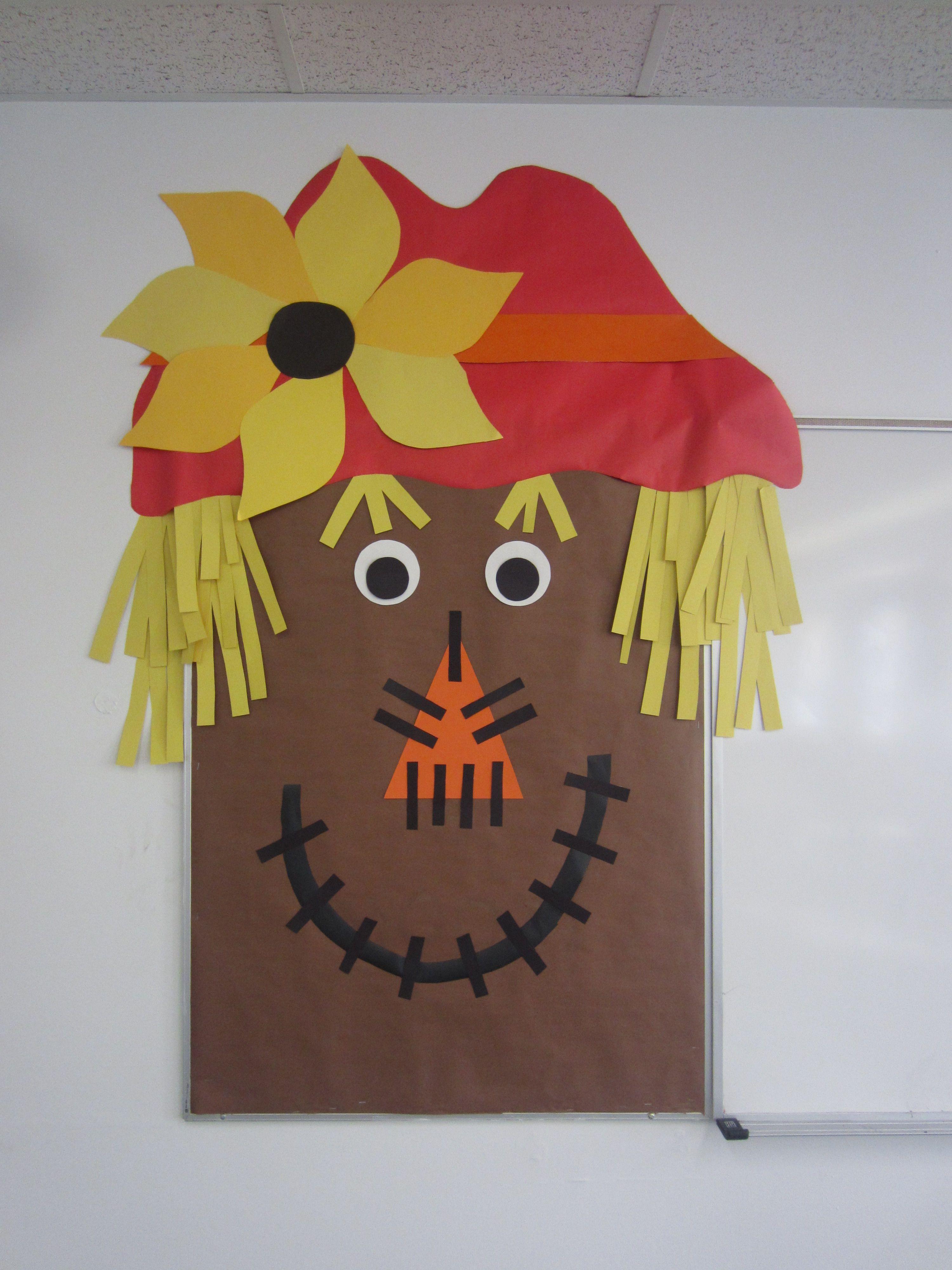 Fall bulletin board, scarecrow bulletin board #fallbulletinboards Fall bulletin board, scarecrow bulletin board #novemberbulletinboards
