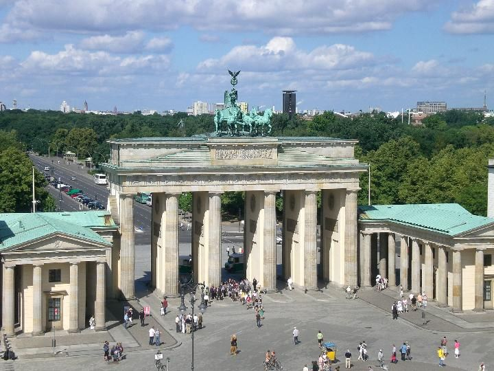 The Brandenburg Gate Brandenburger Tor Is A Former City Gate Rebuilt In The Late 18th Century Europe Trip Planning German Travel Germany Travel Bucket Lists