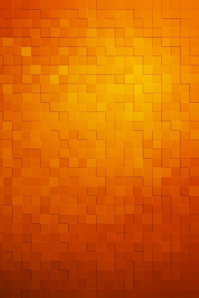 Color Naranja   Orange!!! Blocks Wallpaper | Iphone | Pinterest | Orange,  Orange Braun Und Farben