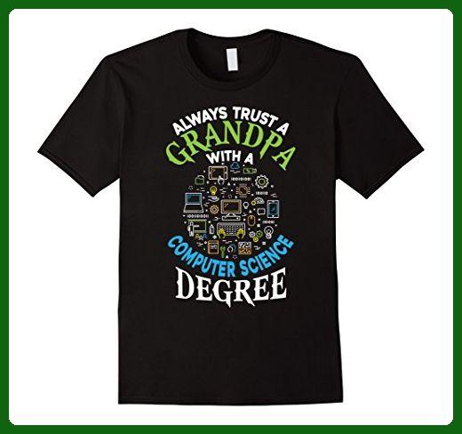 Mens Grandpa T Shirt Computer Science T Shirt Xl Black Math