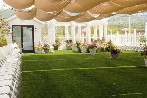 Amazing Rooftop Garden At Wight House Reception Center In Bountiful Utah