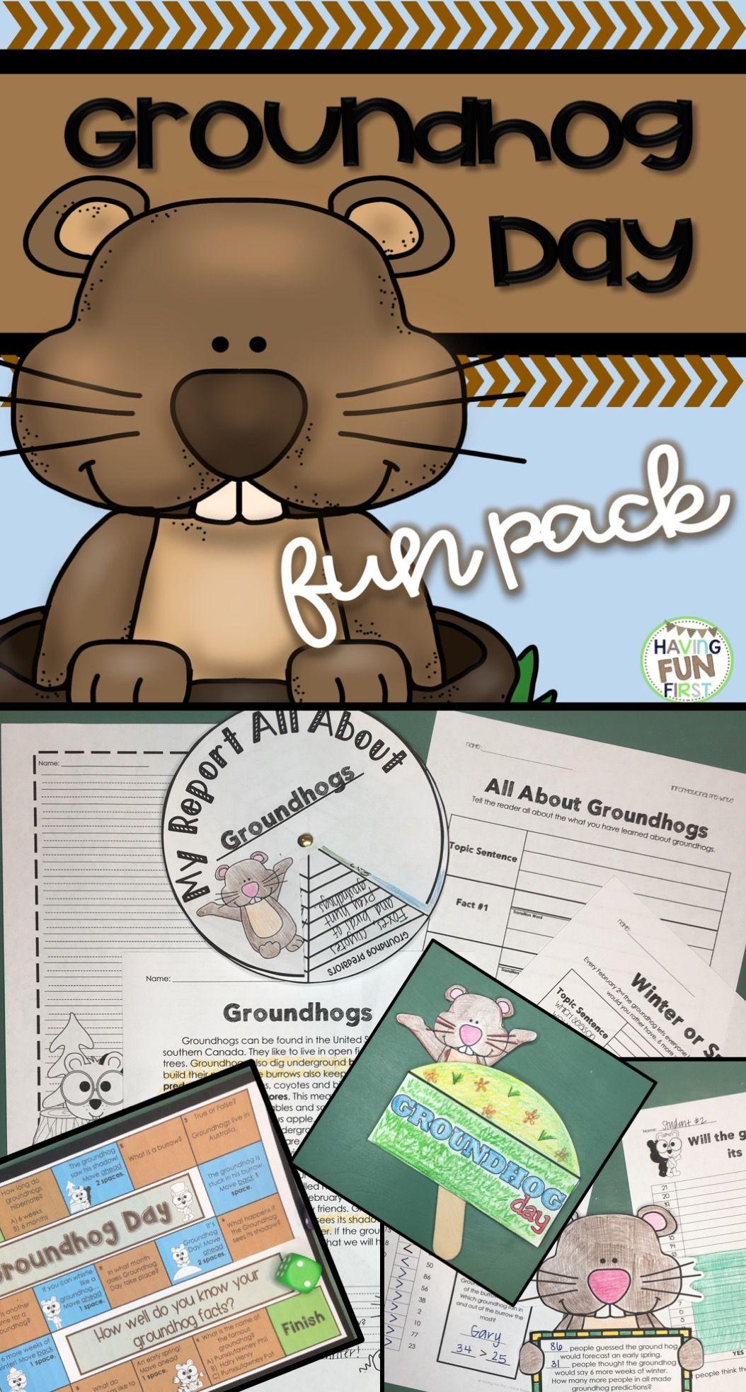 Groundhog Day Activities