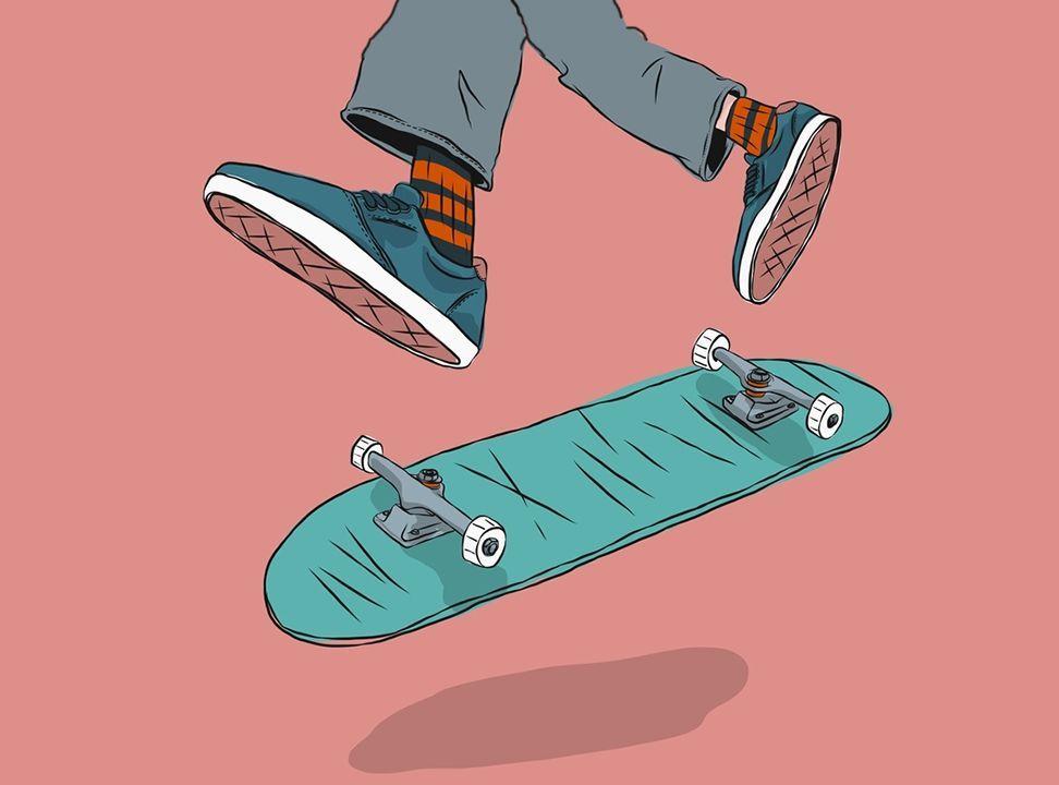 Planche De Skate Dessin Facile->dessin pour planche de ...