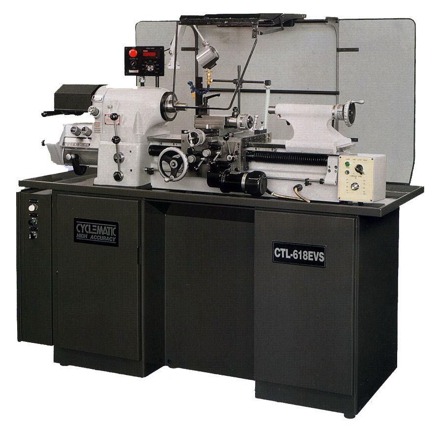 Cyclematic CTL-618EVS High Speed / High Accuracy Toolroom