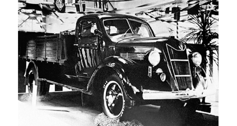 1935 Toyota G1 The First Truck