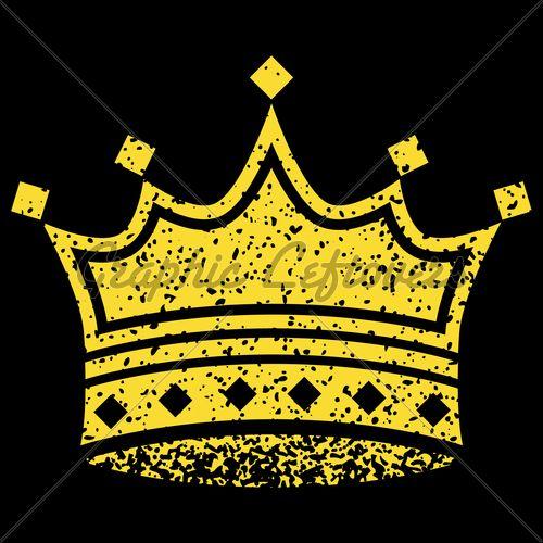 Yellow Crown Latin Kings Gang Black Backgrounds Yellow